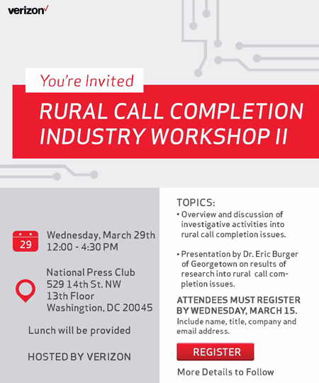 2017 Rural Call Completion Workshop