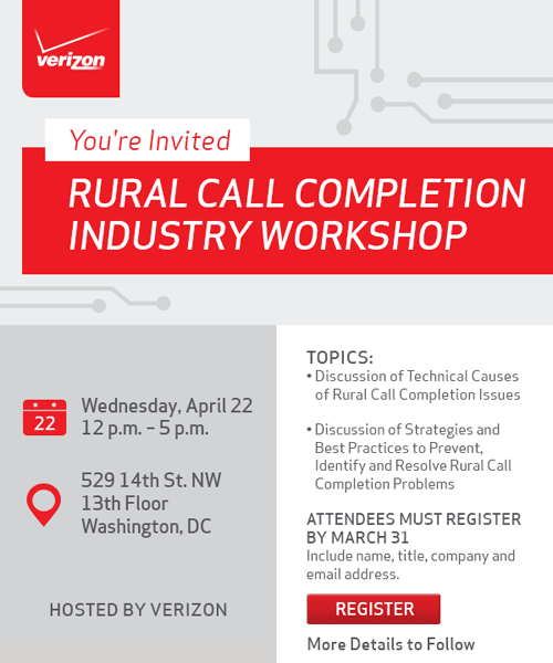 Verizon Workshop Invitation Graphic